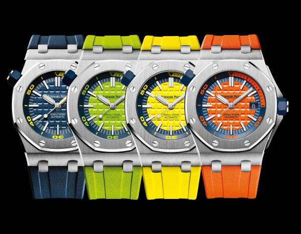 AUDEMARS PIGUET - Royal Oak Offshore Diver Funky-Colour Edition
