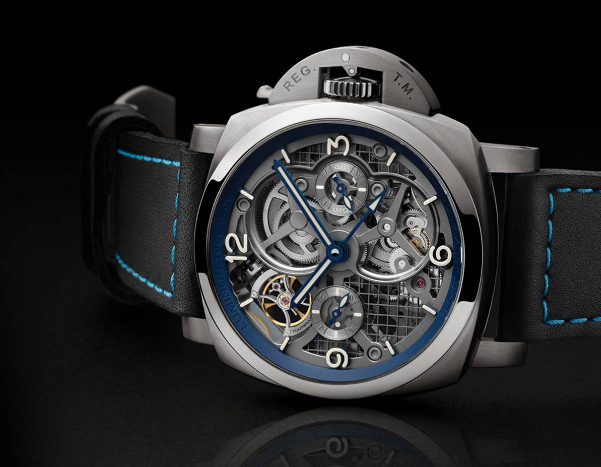 PANERAI - Lo Scienziato Luminor 1950 Tourbillon GMT