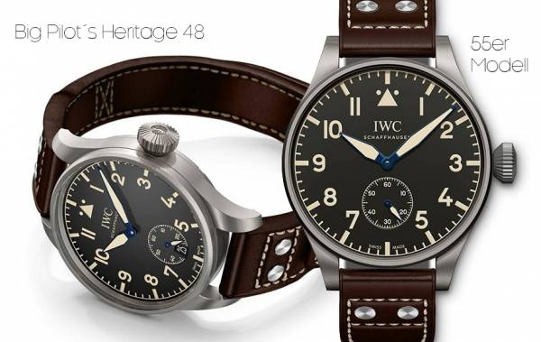 IWC - Big Pilot´s Heritage Watches 55+48