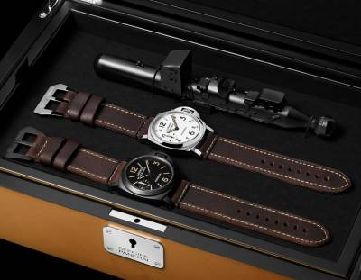 OFFICINE PANERAI - Special Edition Set Luminor Black Steel & Luminor Daylight