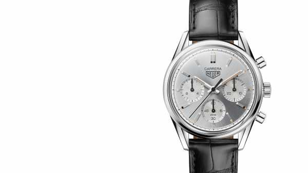 TAG HEUER - Carrera 160 Years Silver LE