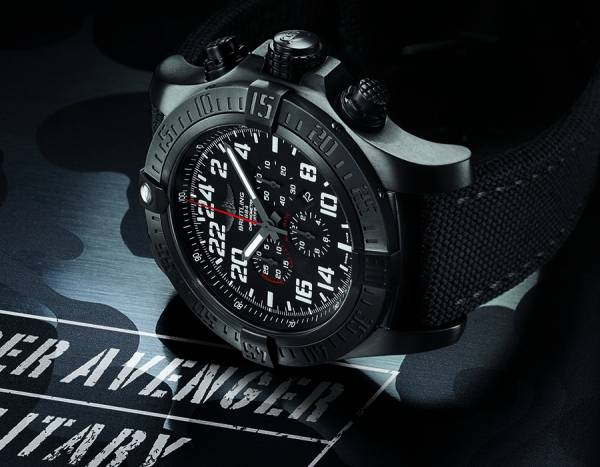 BREITLING - Super Avenger Military Limited