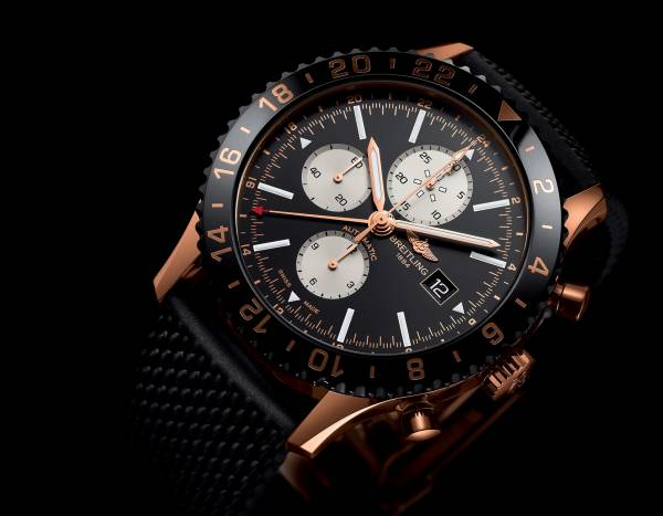 Breitling Chronoliner Rotgold Limited Edition 250 Stück