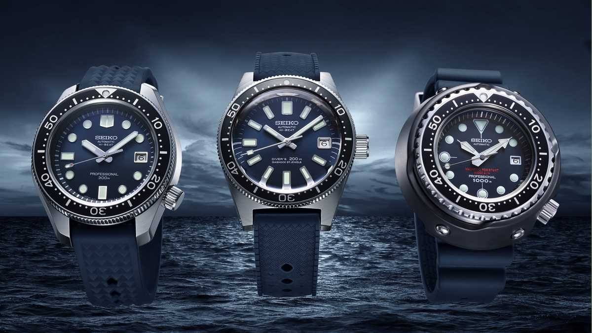 Seiko - Diver´s Watch Serie 55th Anniversary