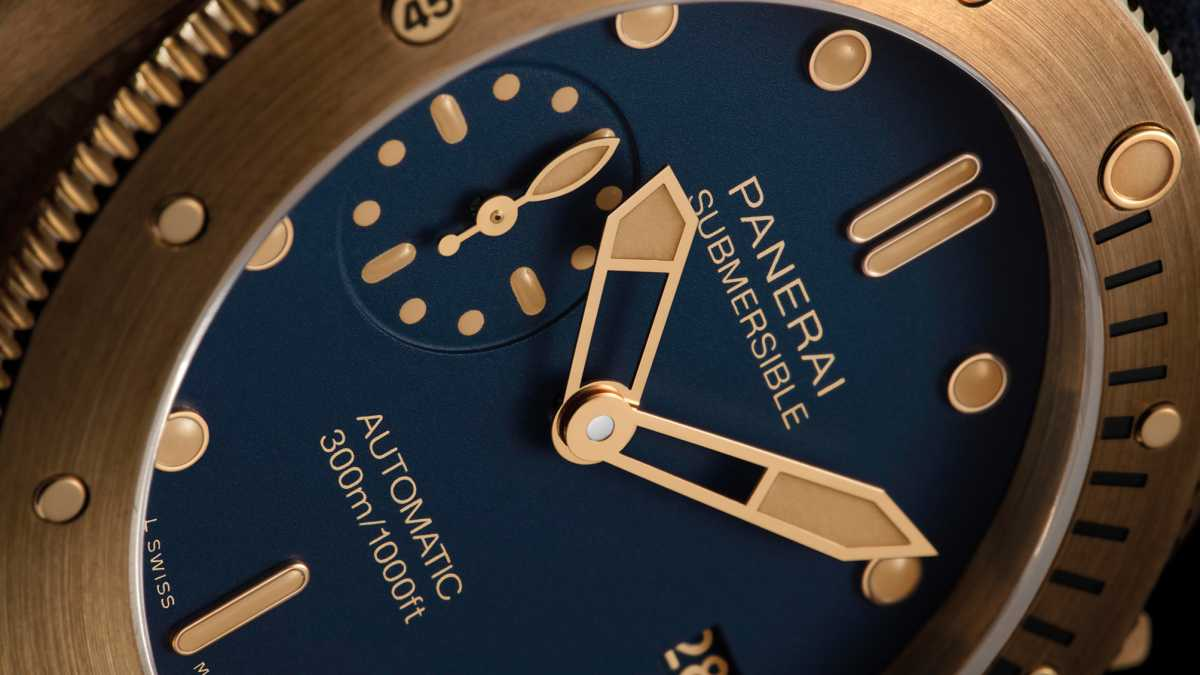 Officine Panerai - Submersible Bronzo Blu Abisso