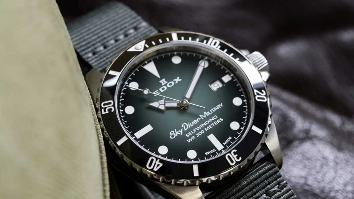 EDOX - SkyDiver Military Limited