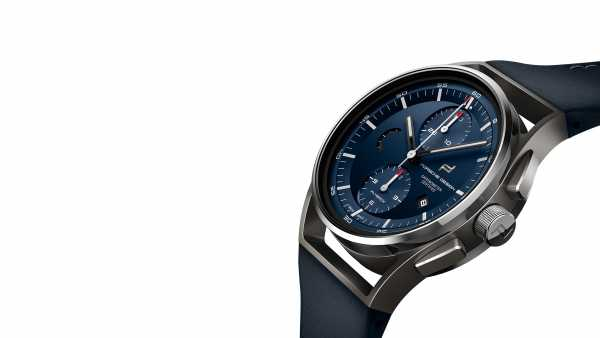 PORSCHE DESIGN - 1919 CHRONOTIMER FLYBACK BLUE & LEATHER