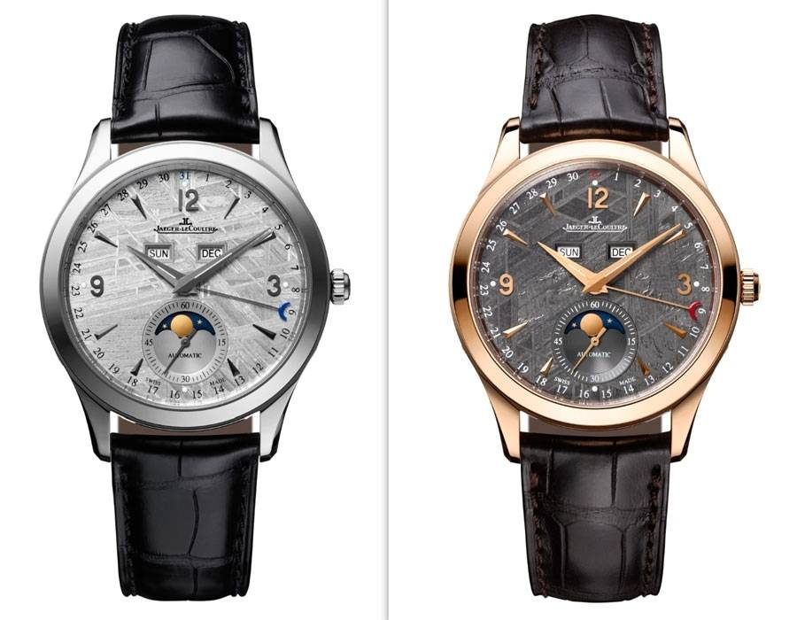 Jaeger -leCoultre PRE SIHH 2015 Master Calendar Meteorit