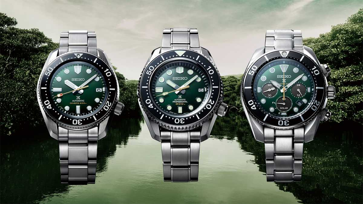Seiko - Prospex « The Green Island LE »