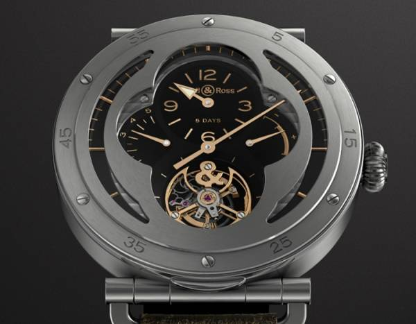 BELL & ROSS - WW2 Military Tourbillon